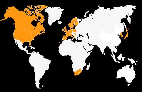 Présence mondiale