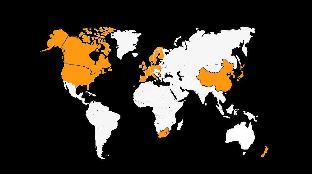 Worldwide Presence